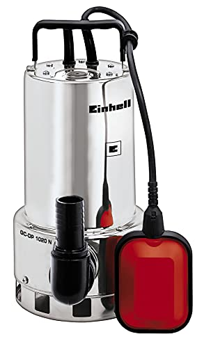 Einhell - GC-DP 1020 N - Bomba de aguas sucias (1000W, capacidad...