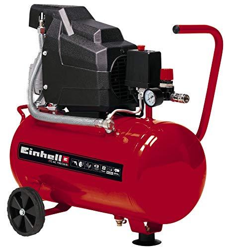 Einhell 4007325 TC-AC 190/24/8 - Compresor de aire, depósito de...