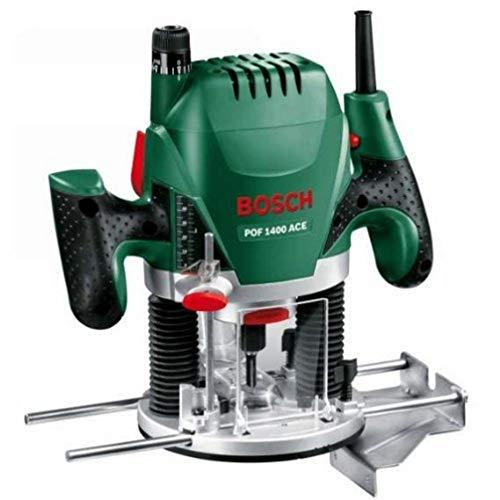 Bosch POF 1400 ACE - Fresadora de superficie (1.400 W, en...
