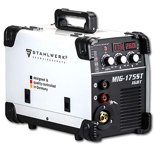 STAHLWERK MIG 175 ST IGBT máquina de soldar con gas de...